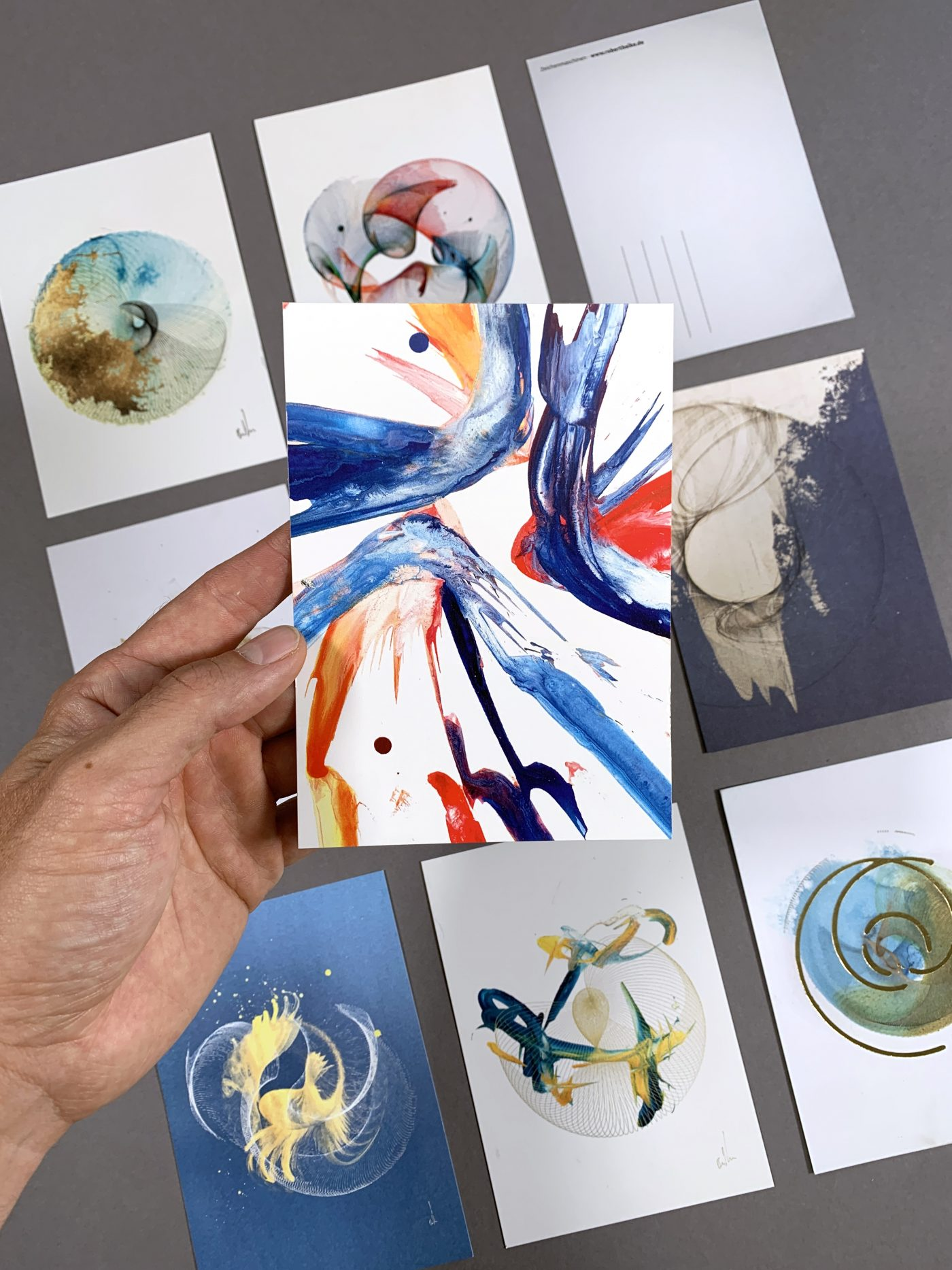 New postcards - 3 for free